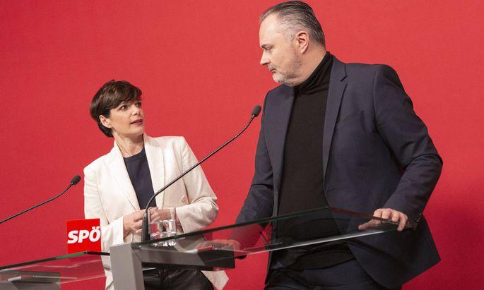 Freund, Feind, Parteifreund? Der Streit zwischen Burgenlands Landeshauptmann und SPÖ-Chef Hans Peter Doskozil und SPÖ-Chefin Pamela Rendi-Wagner spitzt sich zu.