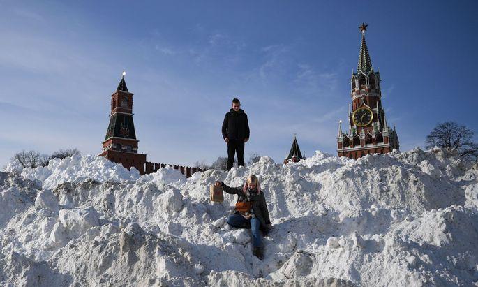 In Moskau räumt man den Schnee nicht einfach weg – man schmilzt ihn.