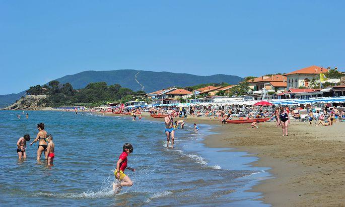 Strandurlaub in Italien? Das könnte für Österreicher ab Mitte Juni wieder möglich sein - etwa hier in Castiglione della Pescaia in der Toskana.
