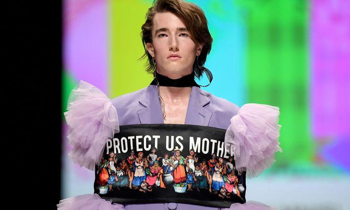Auffällig und originell startete die Berliner Modewoche.