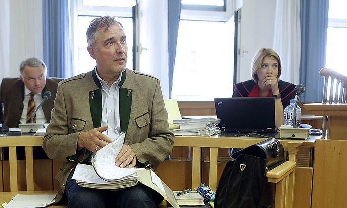 FORTS. PROZESS GEGEN EU-ABGEORDNETEN EWALD STADLER WEGEN NOeTIGUNG: STADLER