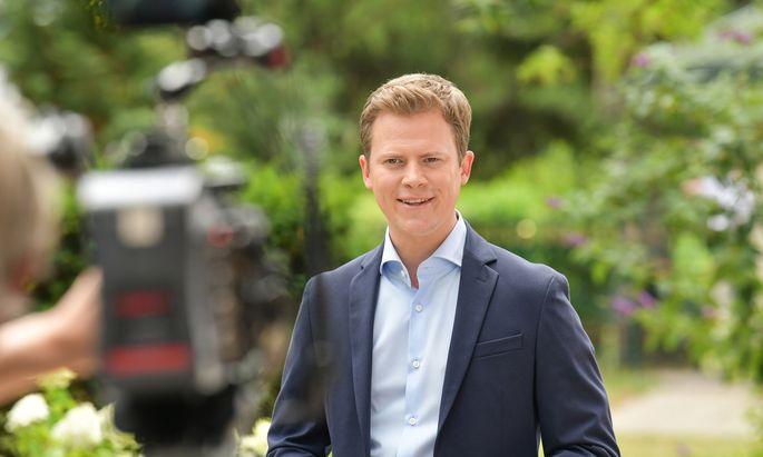 """Dieses Jahr führt Tobias Pötzelsberger die ORF-""""Sommergespräche""""."""