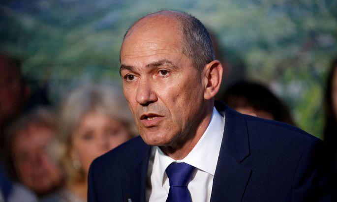 Sloweniens Regierungschef Janez Jansa.