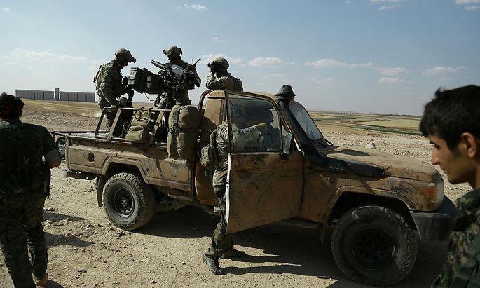 Die kurdische YPG ist Teil der von den USA aus der Luft unterstützten Syrischen Demokratischen Streitkräfte.