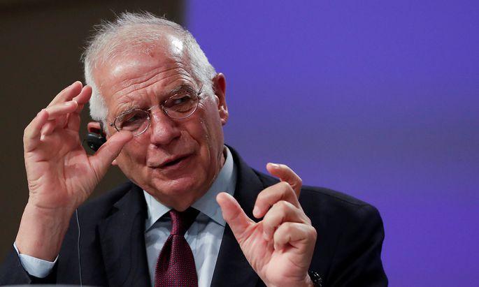 Josep Borrell verurteilte im Namen der EU-Kommission die Polizeigewalt in den USA.