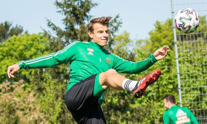 Rapid-Kapitän Stefan Schwab