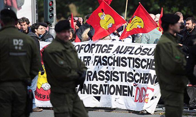 Proteste gegen Rechtspopulisten Wilders