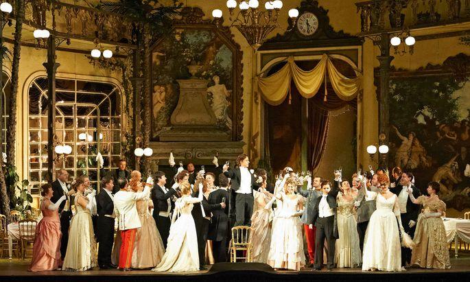 Fledermaus. Ein Silvesterklassiker an der Wiener Staatsoper, heuer live im Stream.