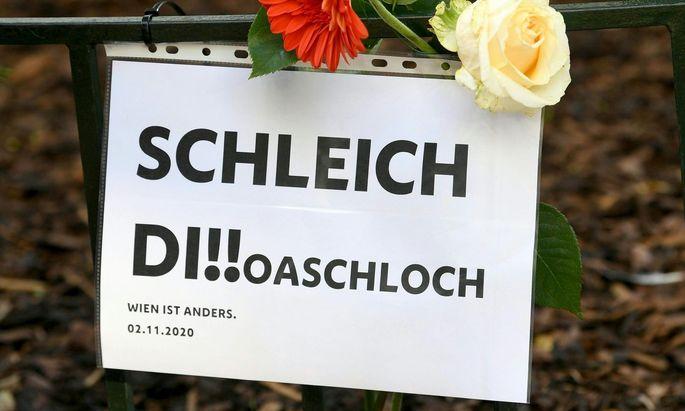 Bei dem Terroranschlag am 2. November 2020 in Wien wurden vier Menschen getötet und 23 verletzt.