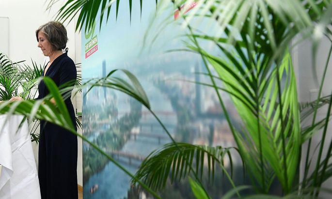 PK GRUeNE WIEN: 'BEGINN DER KOALITIONSVERHANDLUNGEN ZWISCHEN SPOe UND NEOS' - HEBEIN