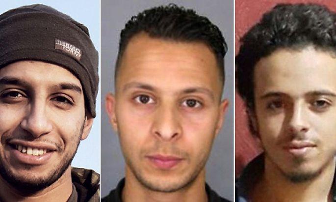 Abdelhamid Abaaoud wurde in Saint-Denis geötet. Salah Abdeslam ist auf der Flucht. Bilal Hadfi sprengte sich vor dem Stade de France in die Luft.