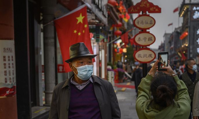 China (im Bild eine Aufnahme aus Peking vergangene Woche) könnte zu den Gewinnern der Krise zählen.