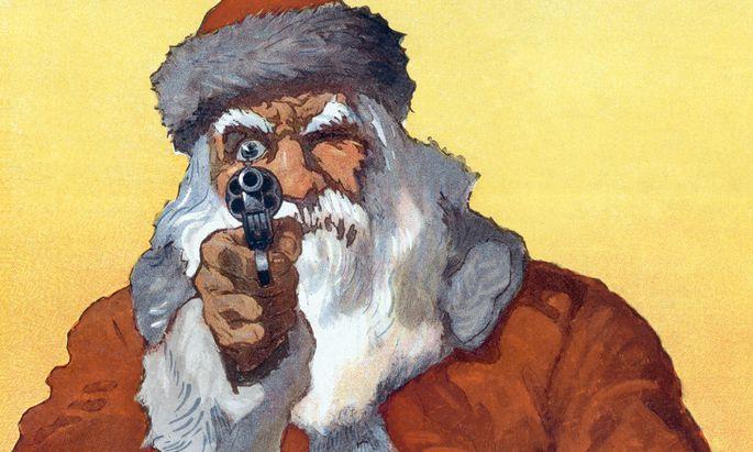 Morgen, Kinder, wird's was geben: Der Weihnachtsmann bringt gern Krimis.