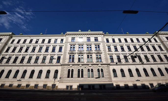 Archivbild. Das ´Bundesamt für Verfassungsschutz und Terrorismusbekämpfung in Wien.