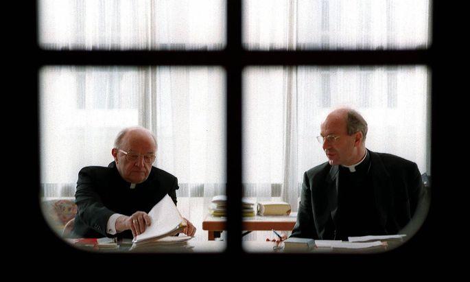 ++ ARCHIVBILD ++ STEIRISCHER ALTBISCHOF JOHANN WEBER IM 94. LEBENSJAHR VERSTORBEN