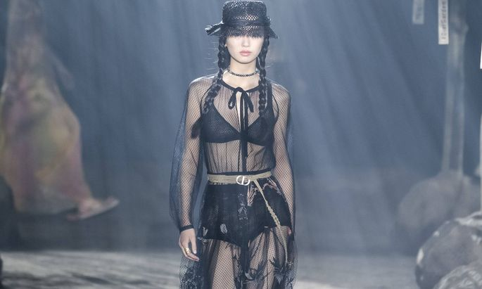 Dior bei der Shanghai Fashion Week.