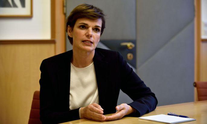Die Bundesparteivorsitzende der SPÖ, Pamela Rendi-Wagner