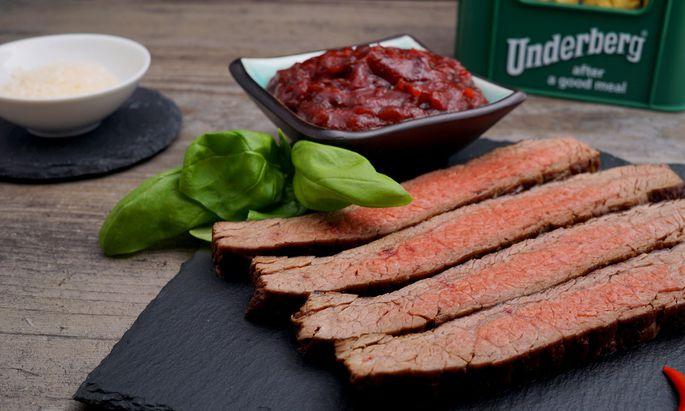 BBQ Sauce mit Kräuterbitter