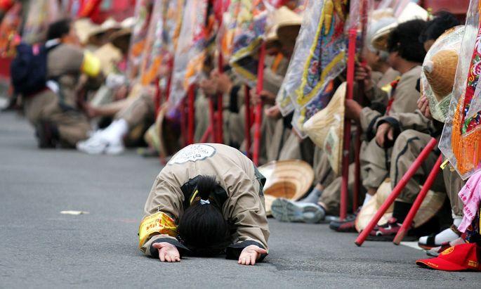 Neben der Religion haben die Religion ist nicht die einzige Leidenschaft der Taiwanesen.