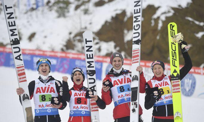 FIS Ski jumping, Skispringen, Ski, nordisch - Normal Hill Mixed Team Fis Ski jumping, Skispringen, Ski, nordisch World