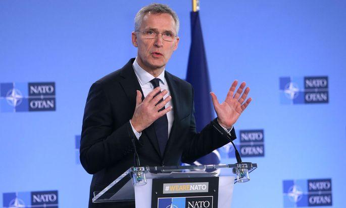Nato-Chef zu