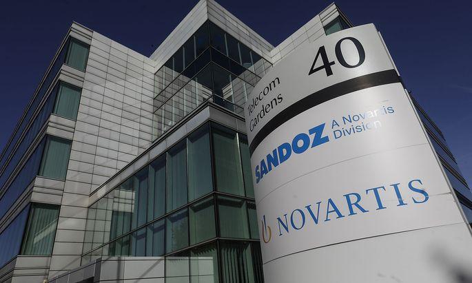 Illustration picture shows the Novartis Belgium headquarters in Vilvoorde, Thursday 19 September 2019. Pharmaceutical co