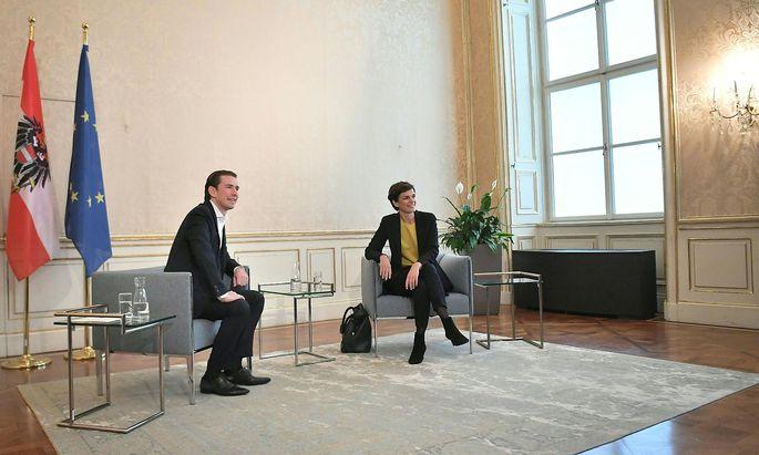 Sebastian Kurz (ÖVP) und Pamela Rendi-Wagner (SPÖ)