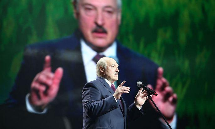 Weißrusslands höchst umstrittener Präsident Alexandr Lukaschenko.