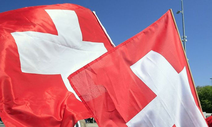 Symbol: Schweizer Flagge