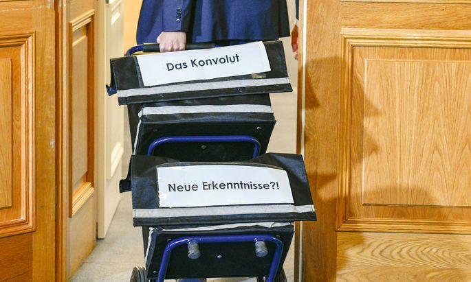 Im U-Ausschuss wurden die ersten Hauptbelastungszeugen vernommen.