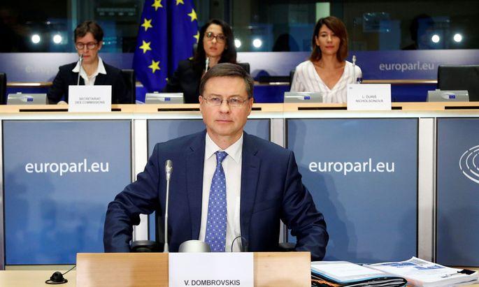 EU-Finanzkommissar Valdis Dombrovskis will ein neues Regelwerk für Kryptowährungen schaffen