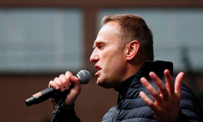Alexej Nawalny ist einer der prominentesten Kritiker von Präsident Wladimir Putin