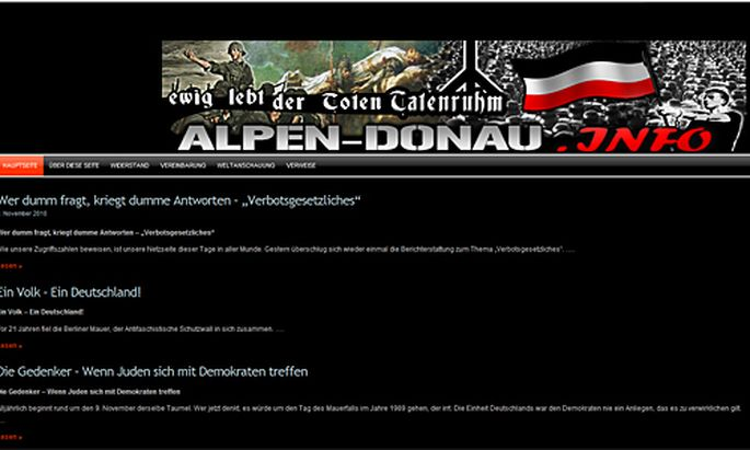 FPoeAbgeordneter soll NaziSeite zusammenarbeiten