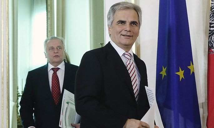 Hundstorfer and Faymann