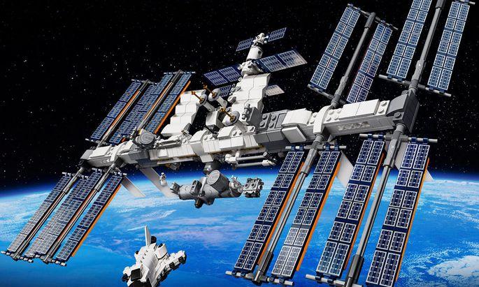 Die Raumstation ISS von Lego besteht aus nicht weniger als 864 Teilen. ? ESA