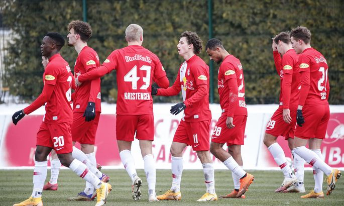Red Bull Salzburg bezwang Vorwärts Steyr.