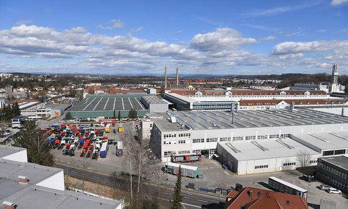 Archivbild vom MAN-Werk in Steyr.