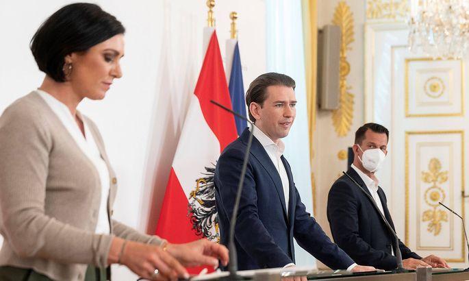 20210630 Council of ministers VIENNA, AUSTRIA - JUNE 30: minister of agriculture Elisabeth Koestinger (OEVP), Federal C