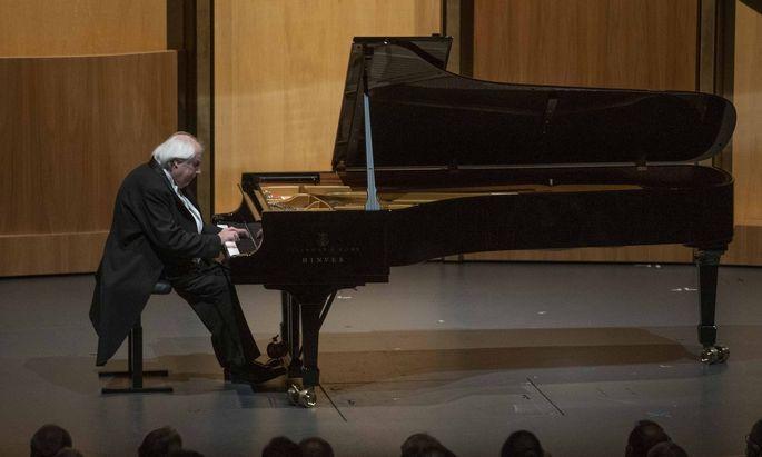 Grigory Sokolov spielte im Großen Festspielhaus