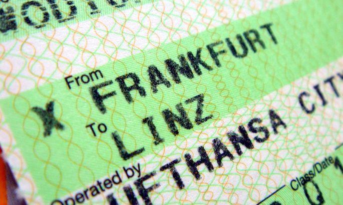 Flugticket - Lufthansa Cityline, Linz Frankfurt