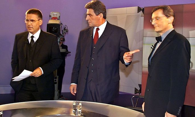 -TV Konfrontation SPOE/OEVP-