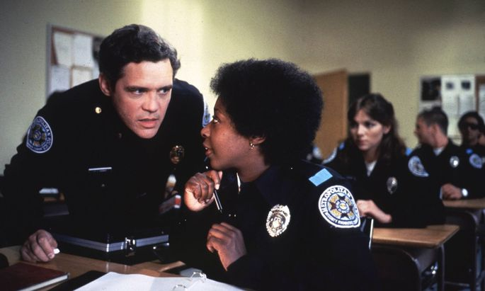 "Archivbild: Marion Ramsey in ""Police Academy"""