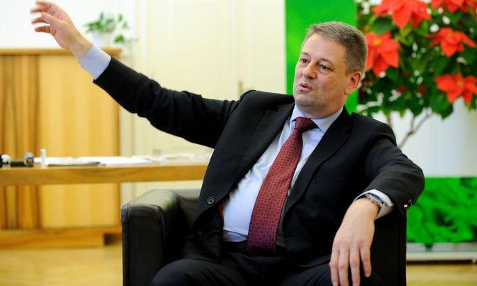 Umwelt- und Landwirtschaftsminister Andrä Rupprechter