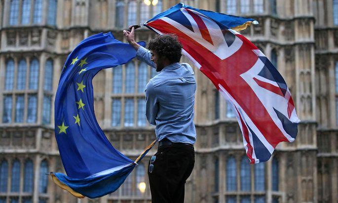 FILES-BRITAIN-EU-POLITICS-BREXIT-ANNIVERSARY