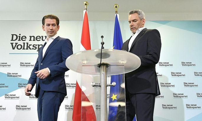 WIEN: PK 'FAeLSCHUNGSSKANDAL': KURZ / NEHAMMER