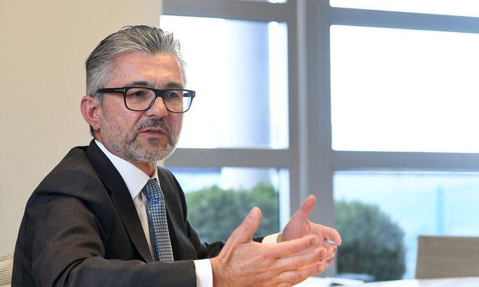 voestalpine-Chef Herbert Eibensteiner: Kurzarbeit nicht nötig