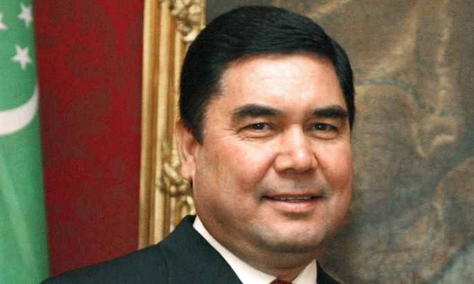 Seit 2007 fest im Sattel: Präsident und Pferdeliebhaber Berdymuhammedow.