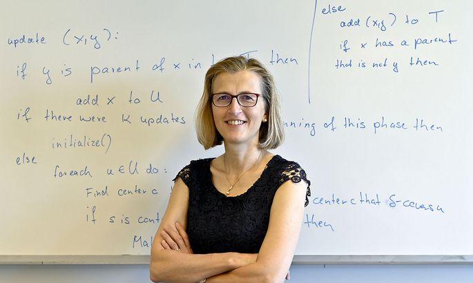 Monika Henzinger kann dank Wittgenstein-Preis 1,5 Millionen Euro für ihre Forschungsdisziplin einsetzen.