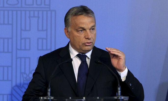 Hungarian Prime Minister Orban