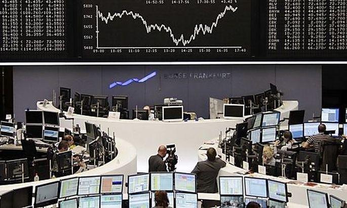 Die europäischen Börsen starten zum Wochenschluss im Plus